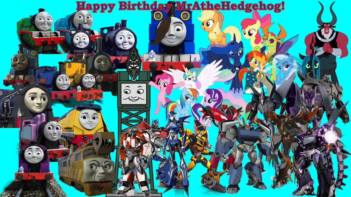 Happy Birthday MrA theHedgehog!