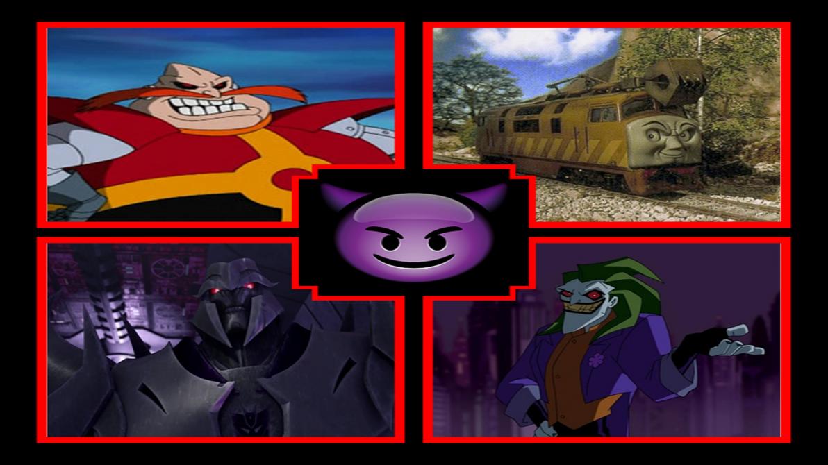 Rizo2612 Studios' The Villains Team Up meme