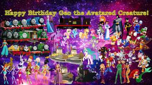 Happy Birthday Geo the Avatared Creature!