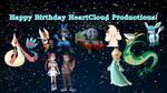 Happy Birthday HeartCloud Productions! by Rizo2612Studios