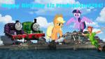 Happy Birthday LizProductions5784! by Rizo2612Studios