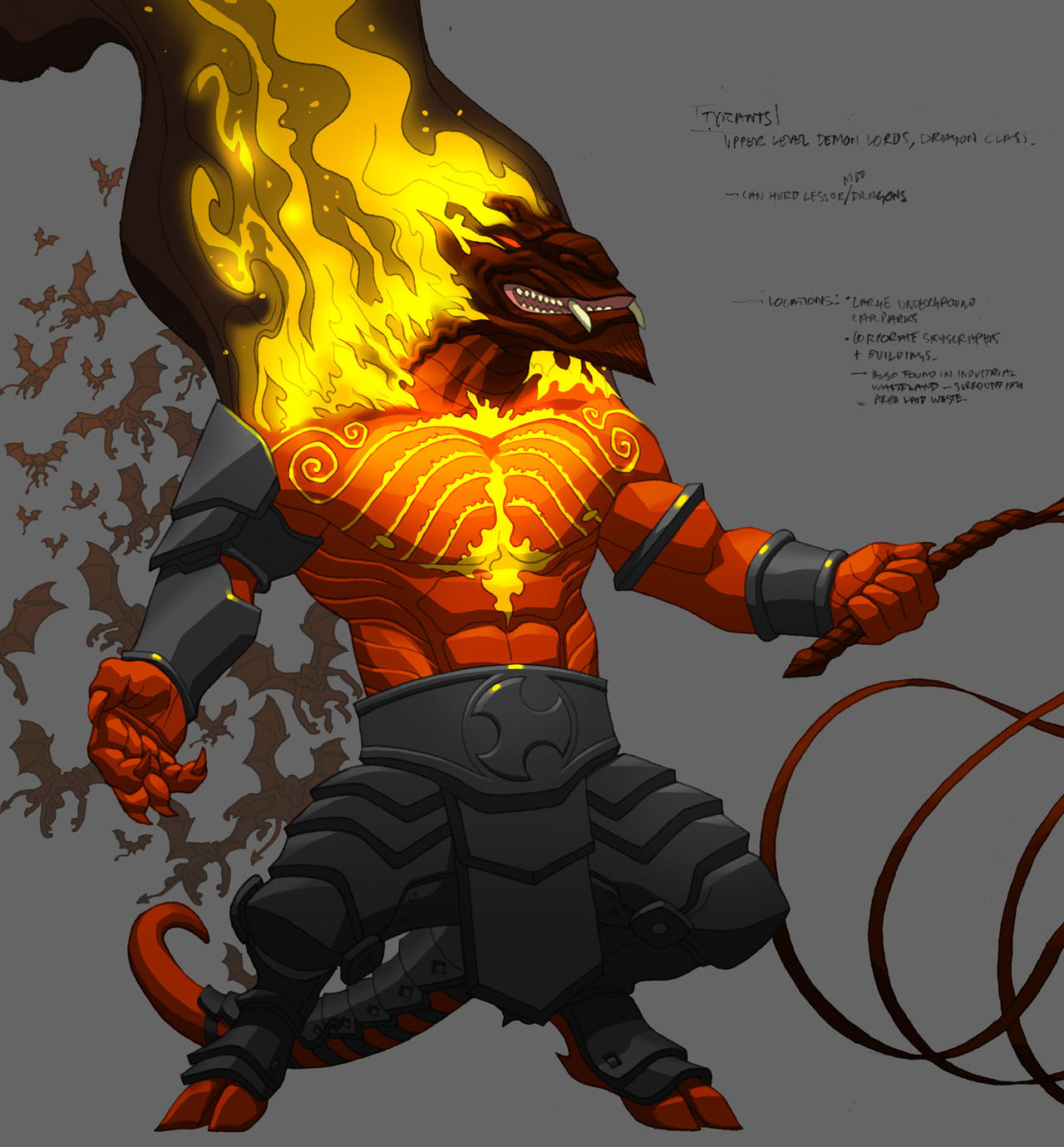 Monsters Demon Major 01+