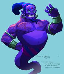 Monsters Djinn 02 by danmalone