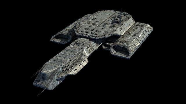 Stargate Raumschiff