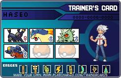 my Pokemon trainer ID card by HaseoYashimora