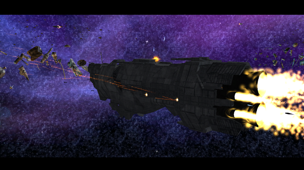 Marathon-class cruiser on Covenant at War MOD by HaseoYashimora on