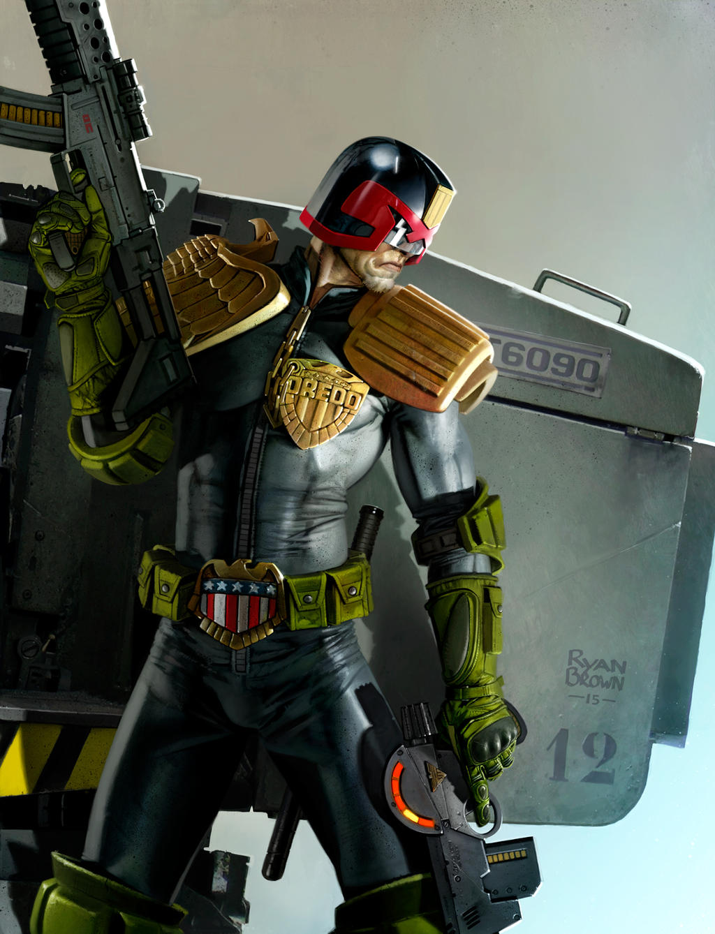 judge dredd guns