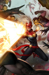 captain marvel braver and mightier issue1 cover