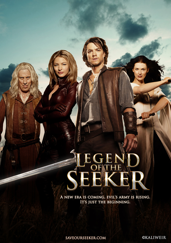 Legend Of The Seeker Season 2 Wallpaper Seeker Season 3 Poster by