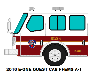 2016 E-ONE QUEST CAB - FFEMS A-1 by EngineCompany51