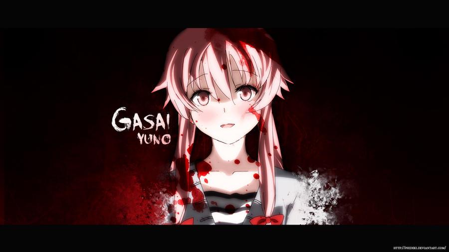Gasai Yuno by phideki