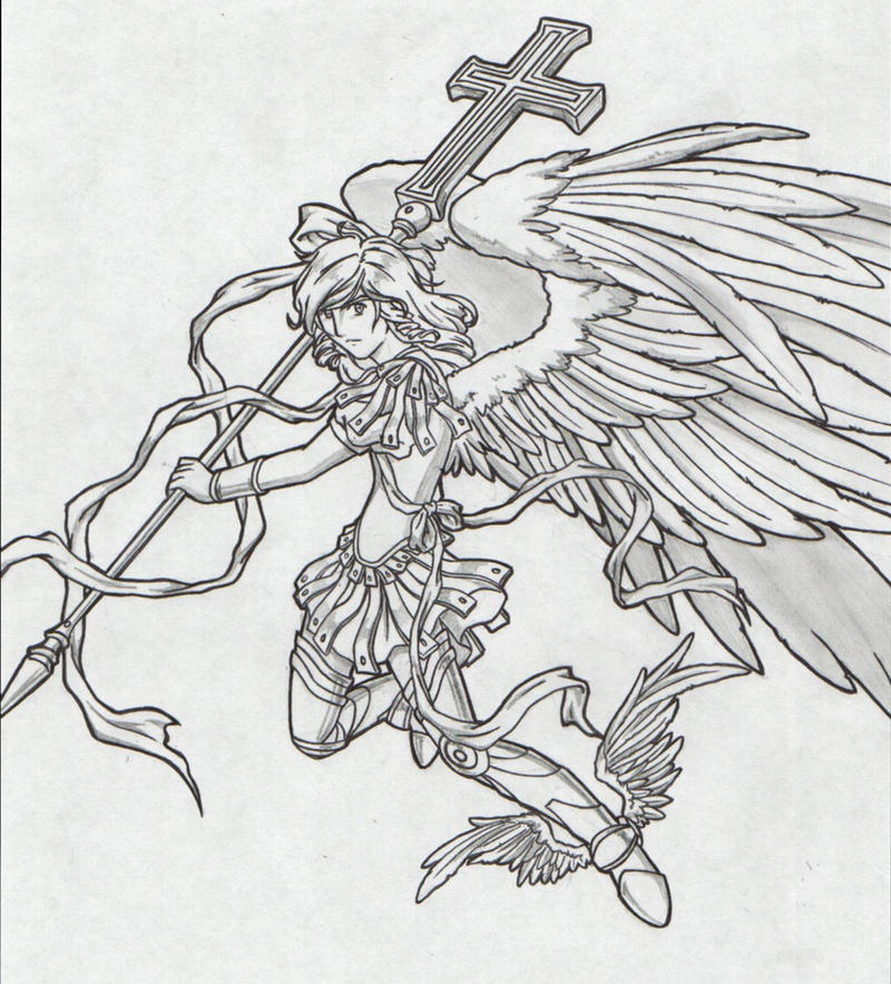 Saint Michael Archangel 2 By Chronos89 On Deviantart