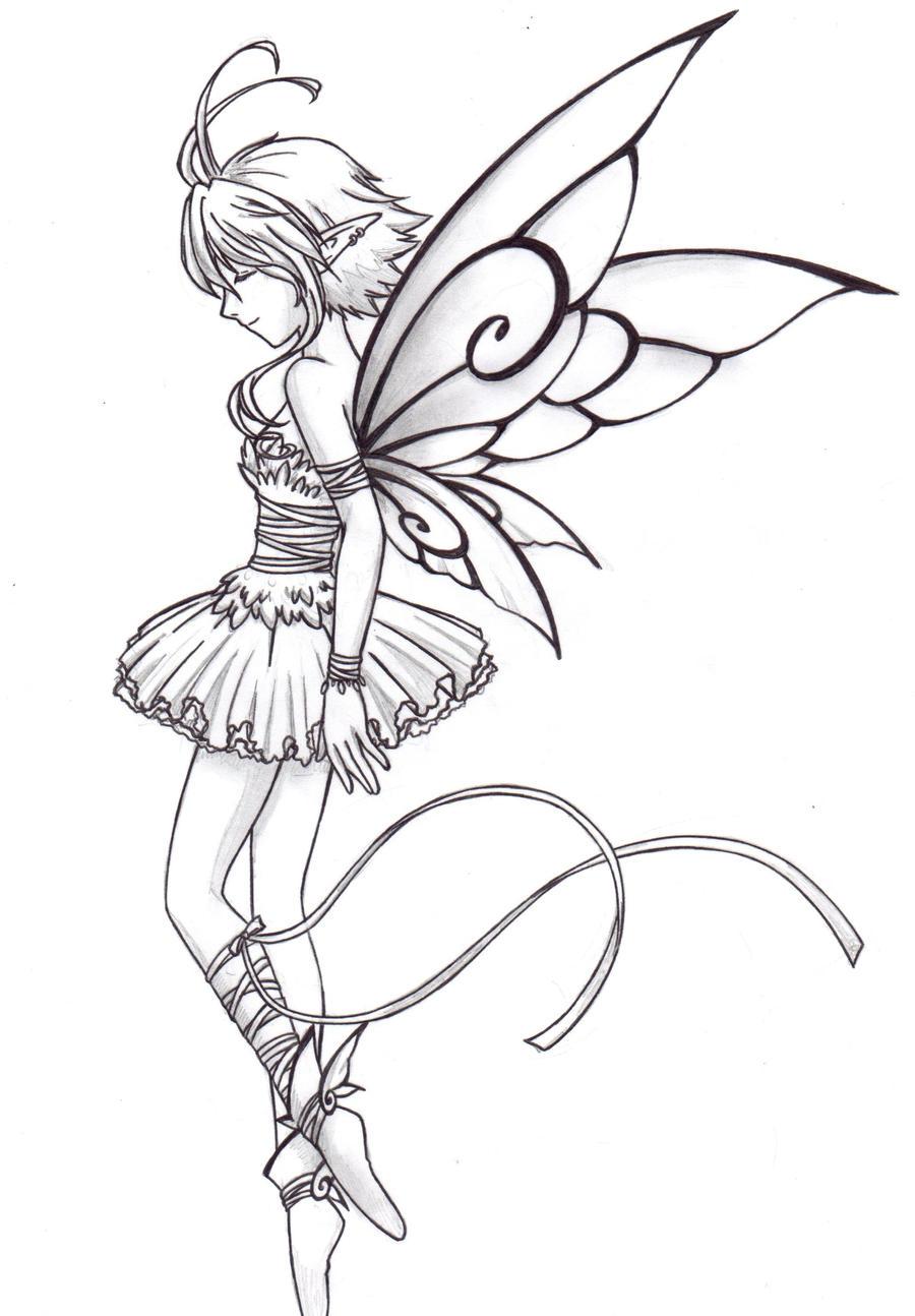 fairy ballet dancer by chronos89 on deviantart
