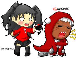 Garcher, I chose you by lisu-c