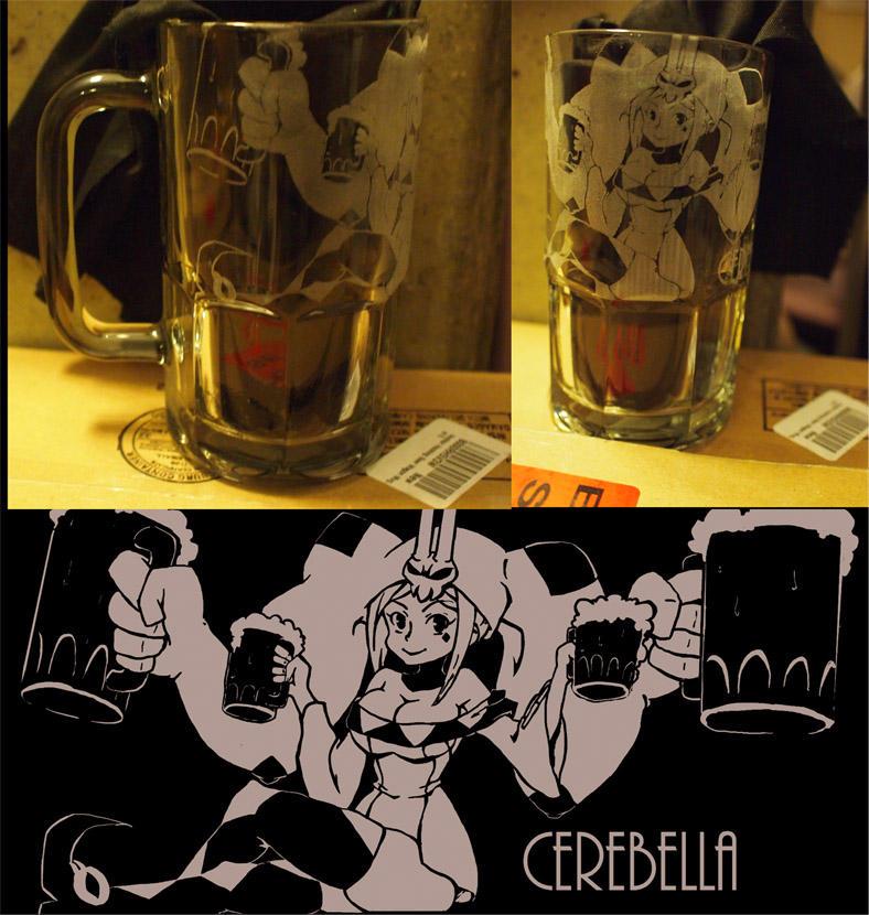 SkullGirls Mugs preview: Cerebella