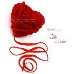 Red love by azrinkami