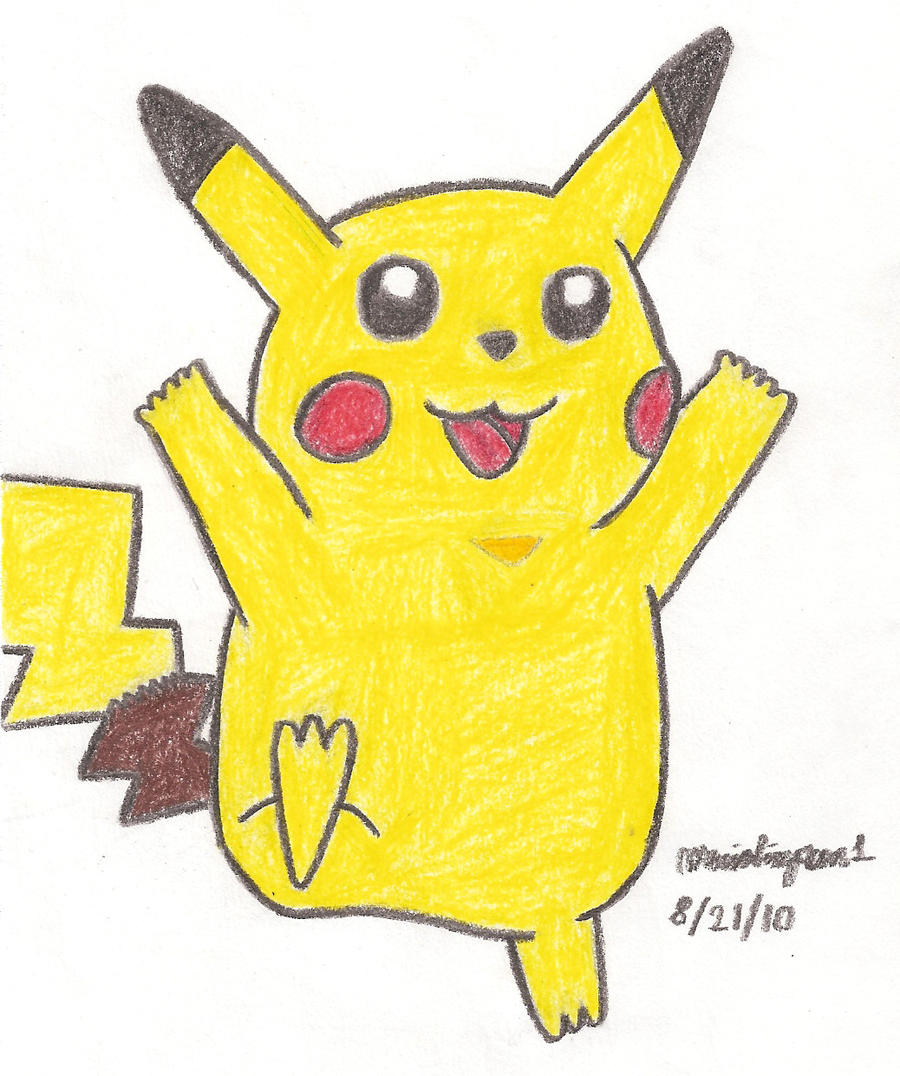 Pikachu Drawing 33