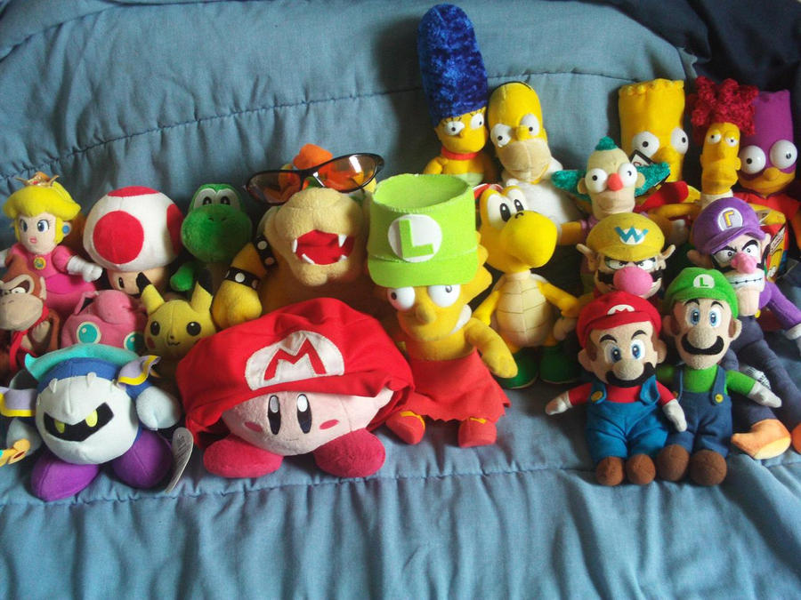 My Plush Toys 2 by MarioSimpson1