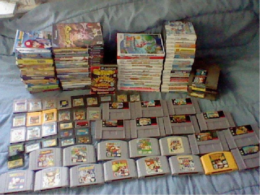 My Mario Games by MarioSimpson1