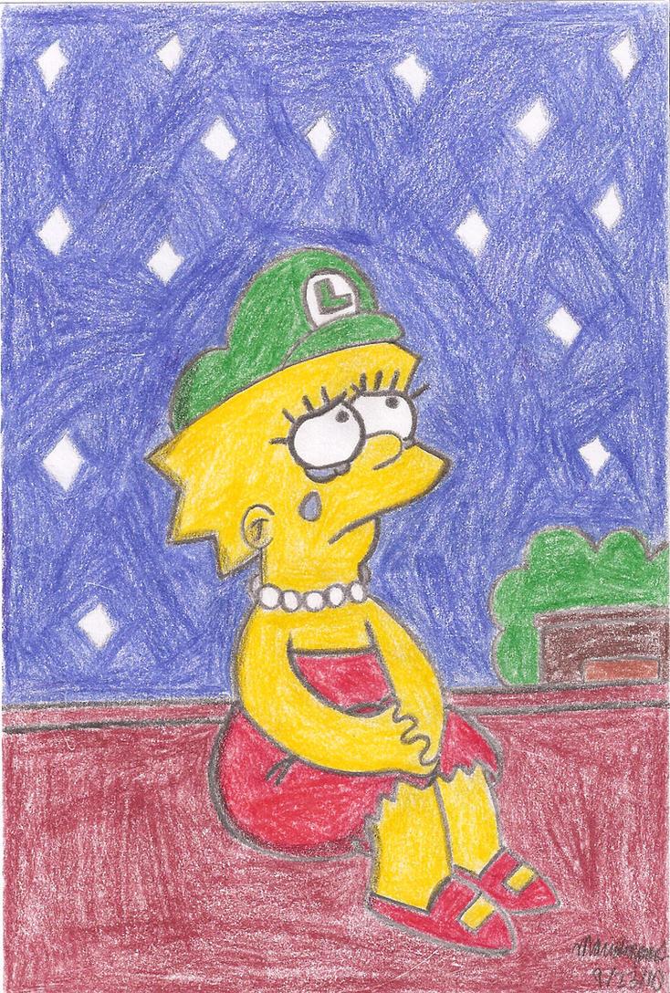 Lisa's Gloomy Night by MarioSimpson1