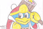 King Dedede Drawing by MarioSimpson1