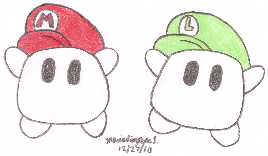 Luma's Mario Bros Hat by MarioSimpson1