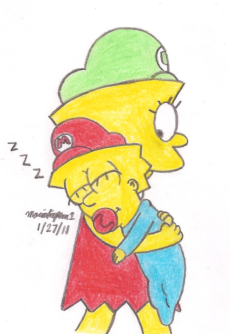 Sleepy Maggie by MarioSimpson1