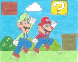 Super Mario Bros by MarioSimpson1