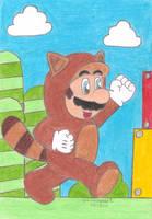 Tanooki Mario by MarioSimpson1