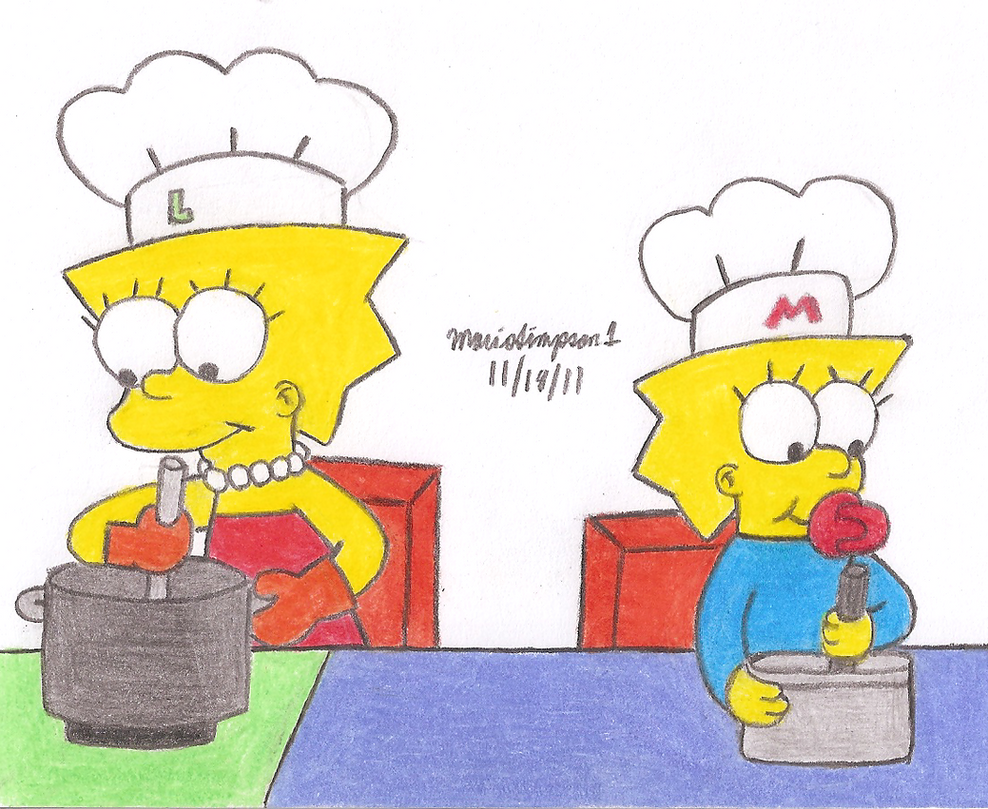 Little Chefs by MarioSimpson1