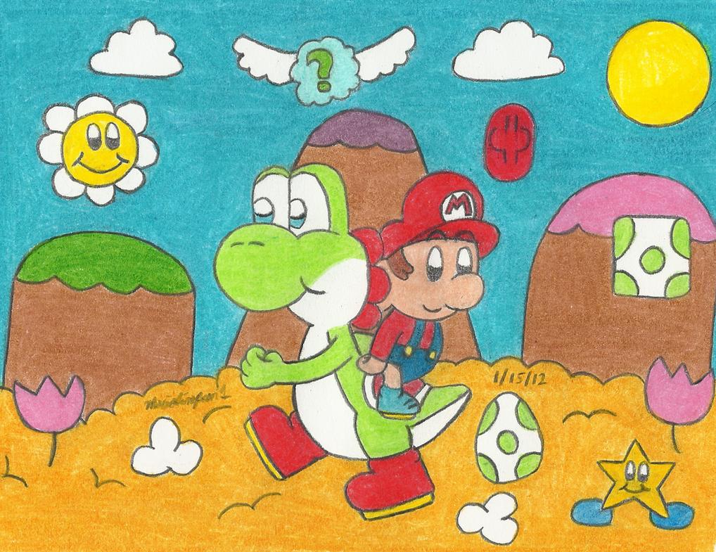 Yoshi's Island by MarioSimpson1