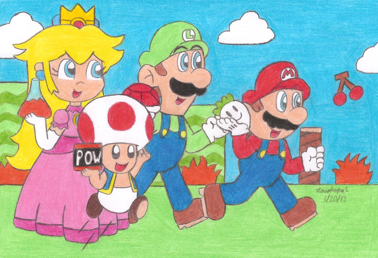Super Mario Bros 2 USA by MarioSimpson1