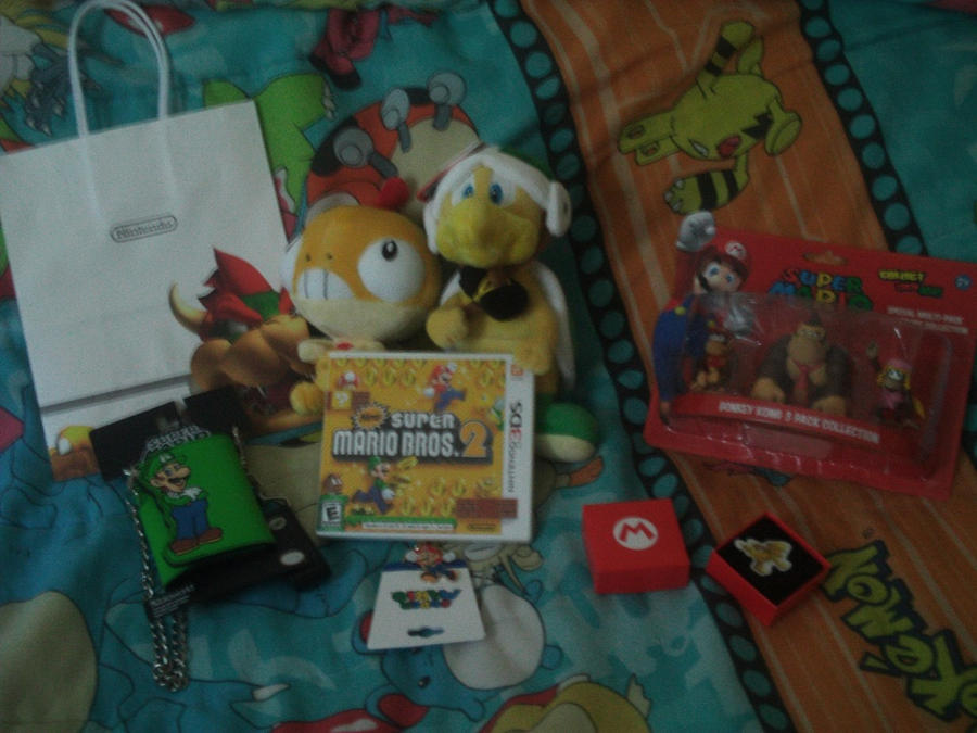 Stuff I Got at Nintendo World 2 by MarioSimpson1