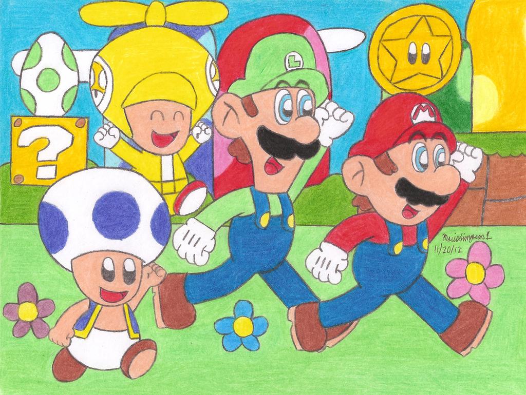 New Super Mario Bros Wii by MarioSimpson1