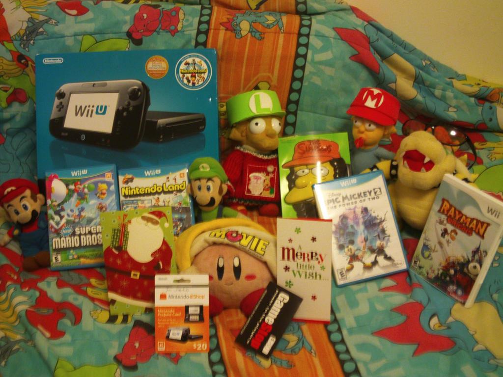 My Christmas Presents 2012 by MarioSimpson1 on DeviantArt