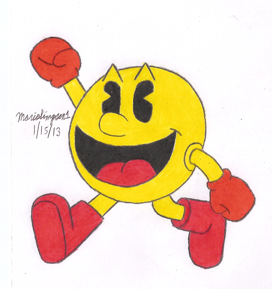 pac man by mariosimpson1 on deviantart