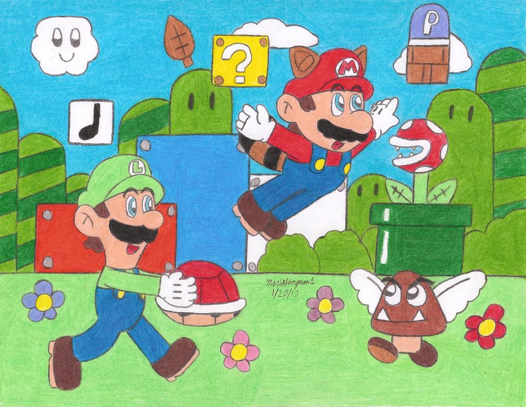 Super Mario Bros 3 by MarioSimpson1
