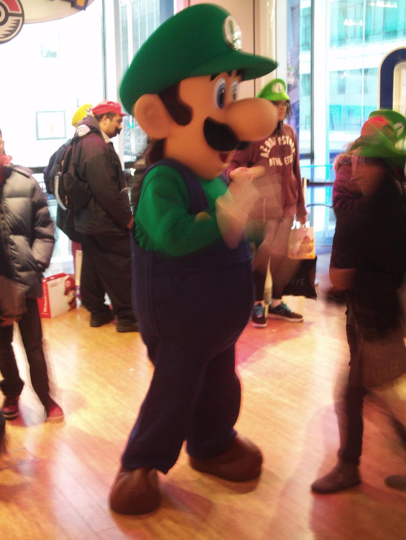 Luigi's Mansion Dark Moon at Nintendo World 28 by MarioSimpson1