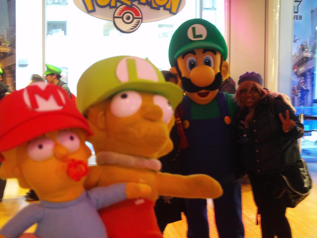 Luigi's Mansion Dark Moon at Nintendo World 35 by MarioSimpson1
