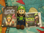 Luigi With His Two Games