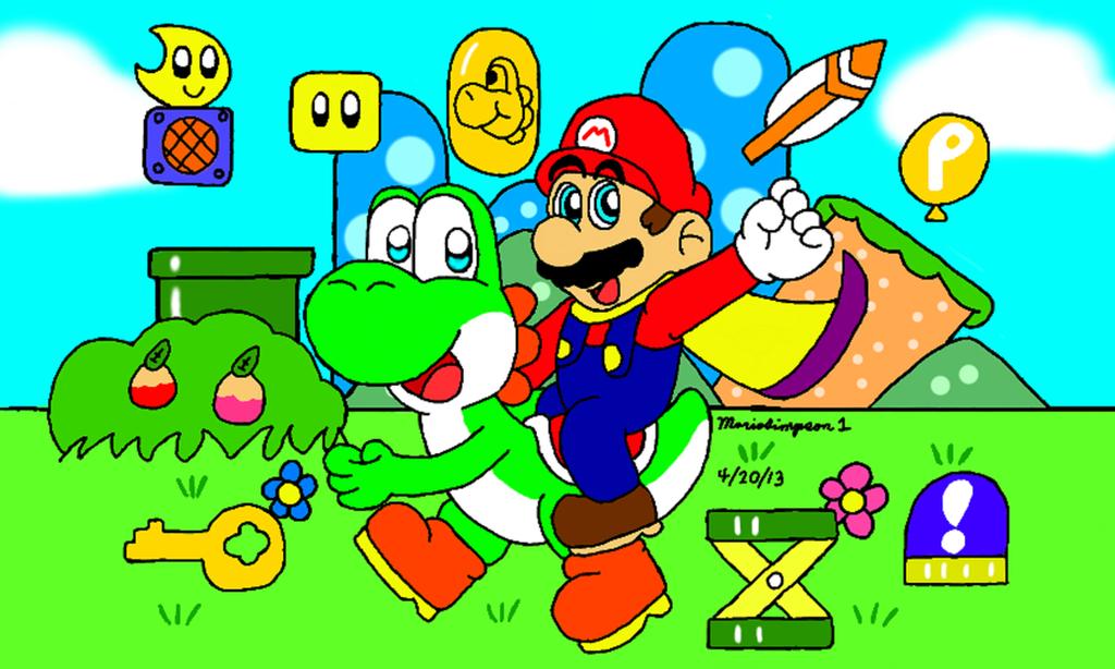 Super Mario World by MarioSimpson1