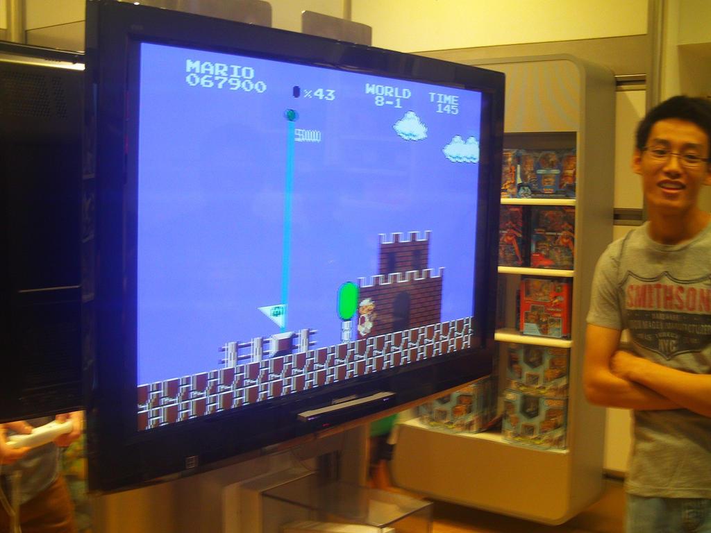Dream Team at Nintendo World 29 by MarioSimpson1