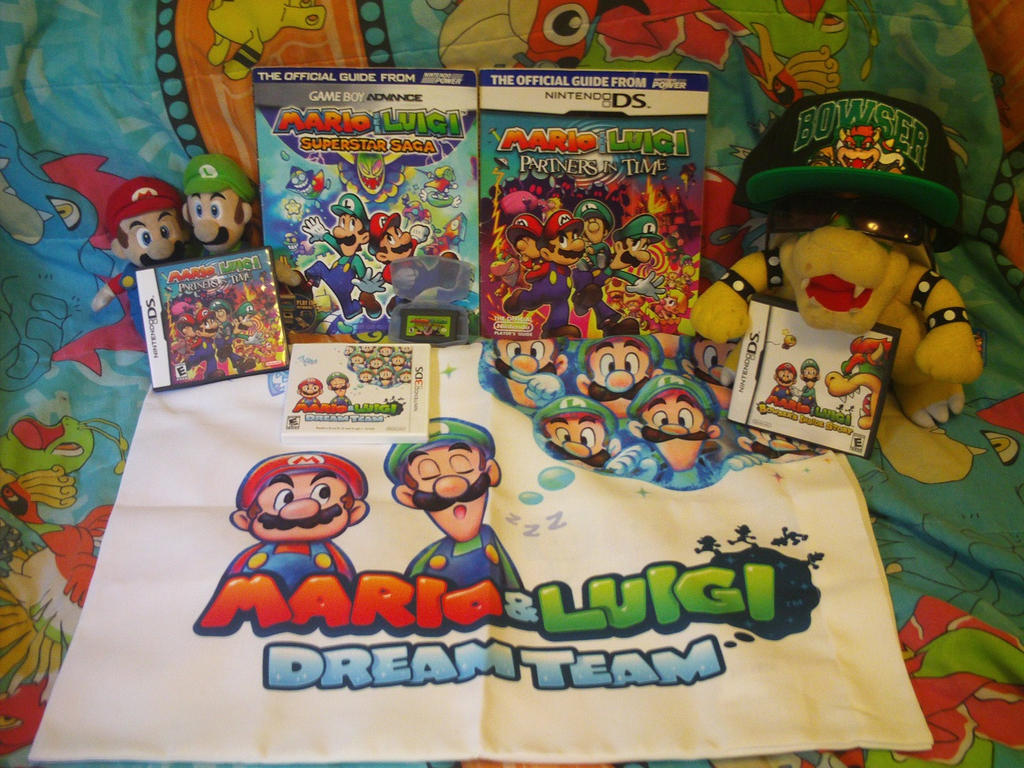 My Mario and Luigi RPG Collection by MarioSimpson1