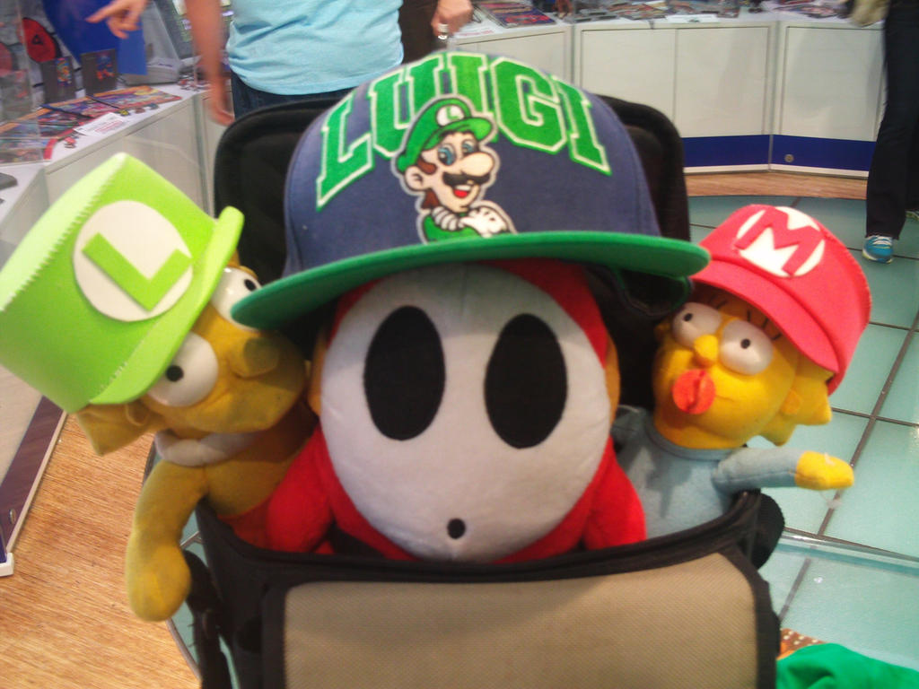 Luigi 30th at Nintendo World 17 by MarioSimpson1