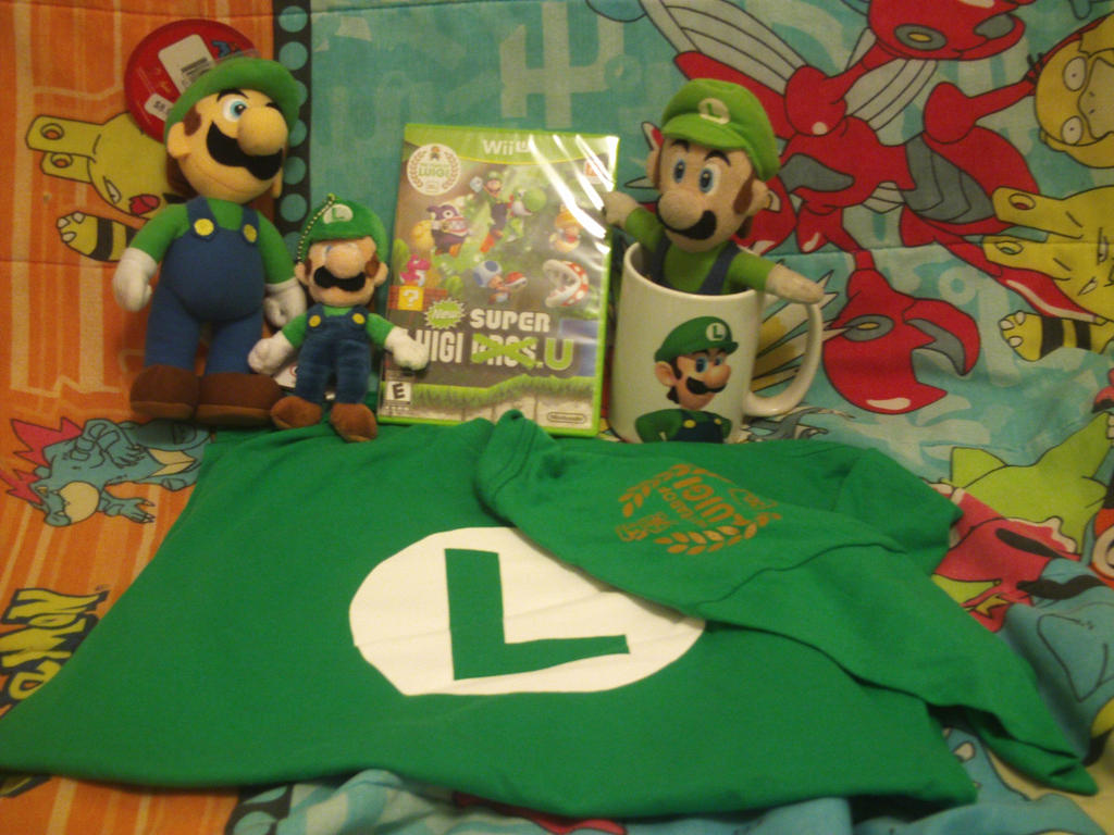 Stuff I Got at Luigi's 30th in Nintendo World by MarioSimpson1