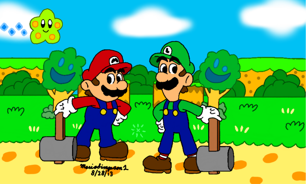 Mario and Luigi RPG by MarioSimpson1
