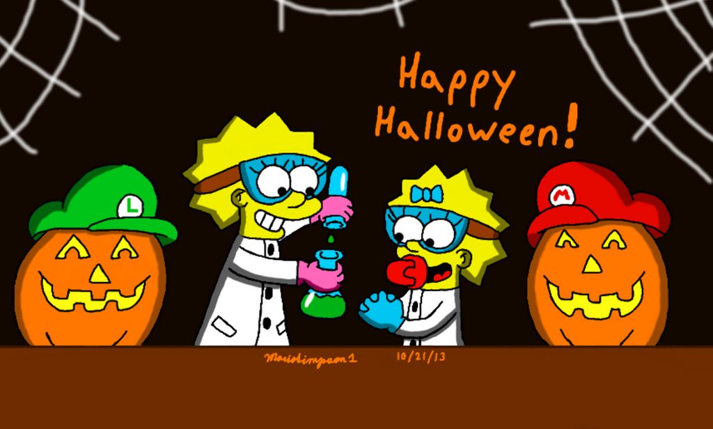 Little Scientists by MarioSimpson1