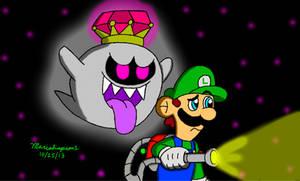Luigi and King Boo