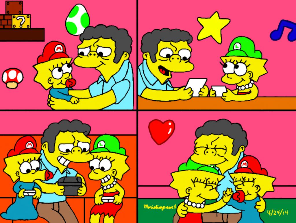 Moe the Babysitter by MarioSimpson1