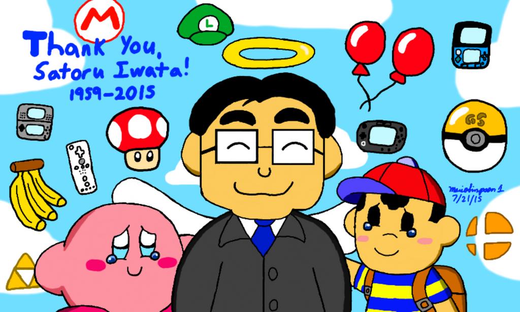 Thank You Satoru Iwata by MarioSimpson1